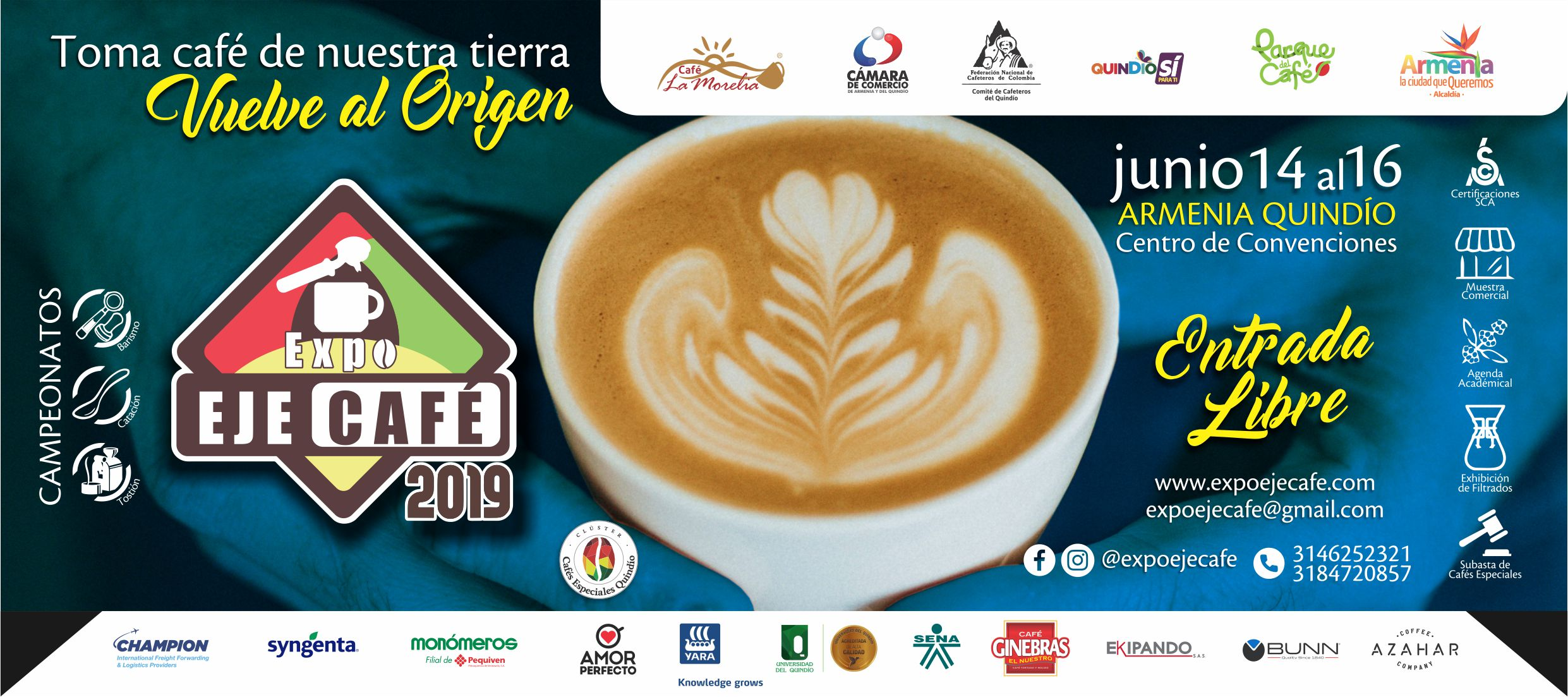 Flyer EXPO EJECAFÉ 2019
